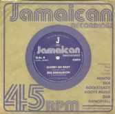Eric Donaldson - Cherry Oh Baby / version (Jamaican Recordings) UK 7""
